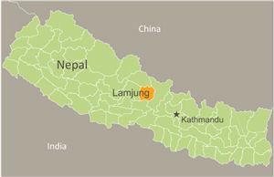 藤江さんご夫妻にご支援をいただいた図書室は、ネパール西部ラムジュン郡にある小学校に設立されました