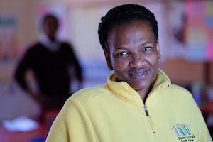 Nomonde Timakwa, Senior Library Management Facilitator for Room to Read South Africa.