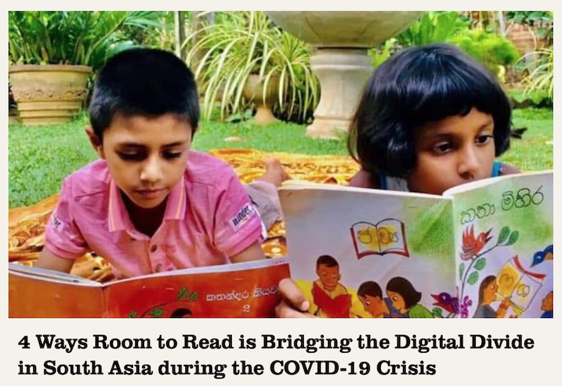 Room to Read EDUCATION ENDURES